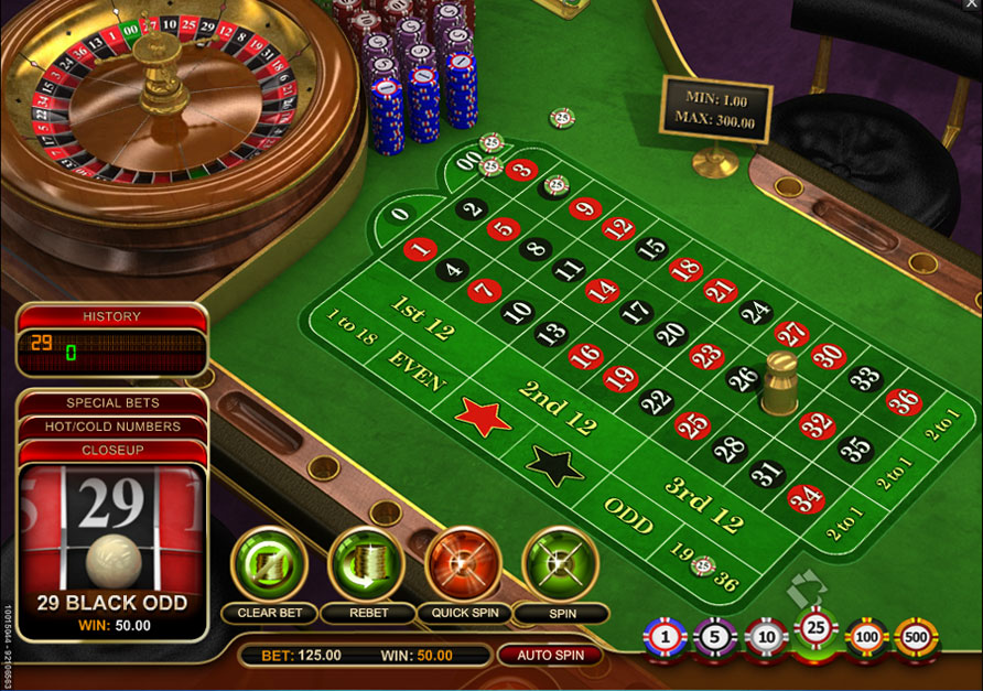Play American Roulette at Casino.com UK