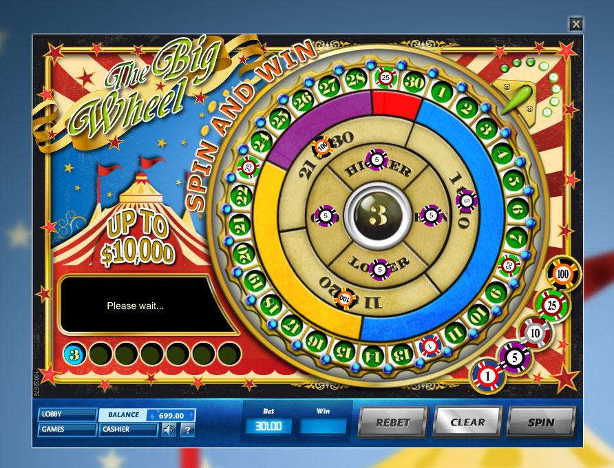 Play The Big Wheel Online - PlayMillion Casino Games