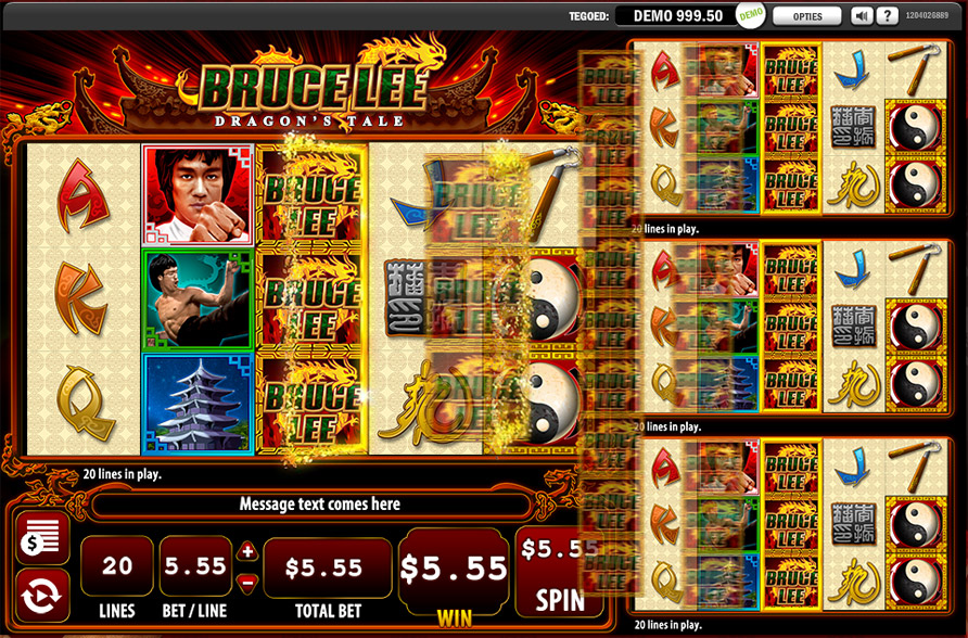 Bruce Lee - A Dragons Tale - Rizk Casino