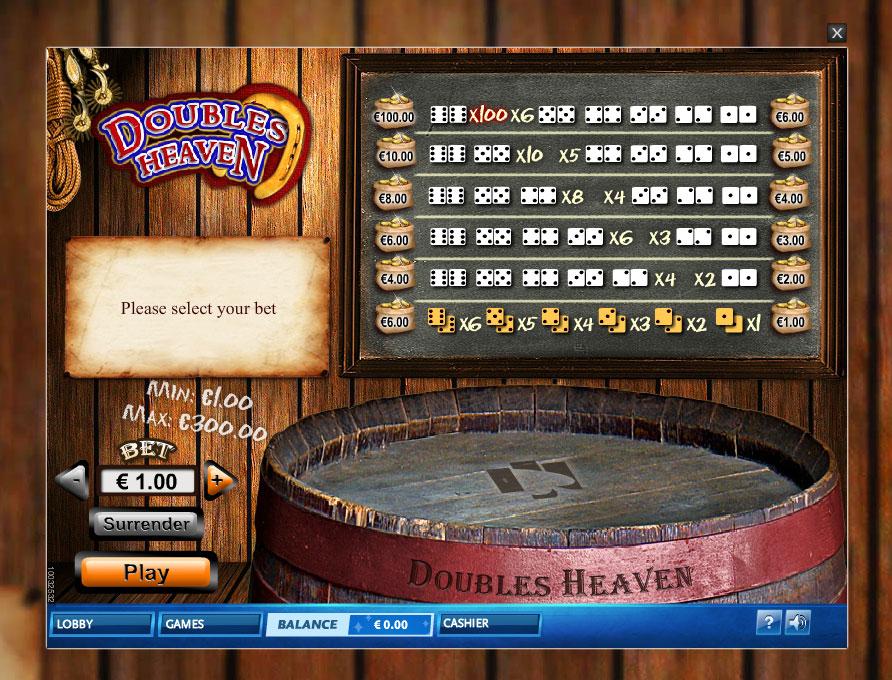 Doubles Heaven – Online Dice Game Doubles Heaven