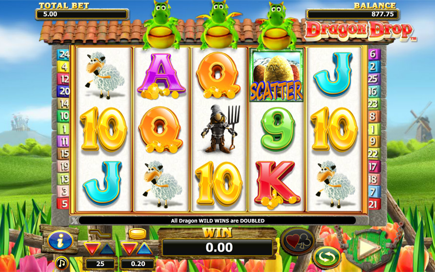 Dragon Drop Slot Machine Review & Free Instant Play Game