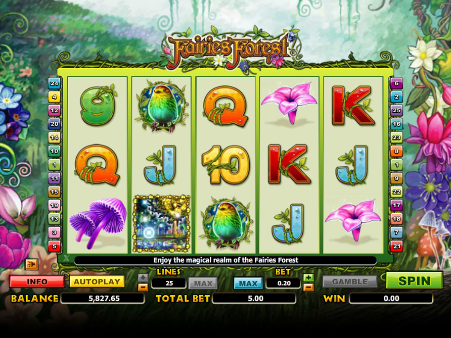 Fairies Forest Online Slot Machine – No Download Play Free