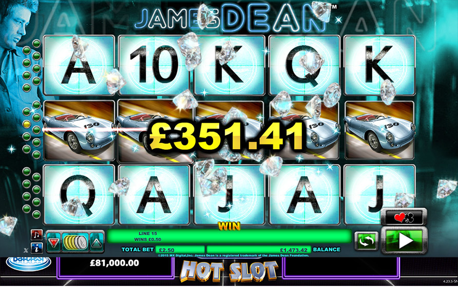 James Dean Scratch Card - Play Now with No Downloads