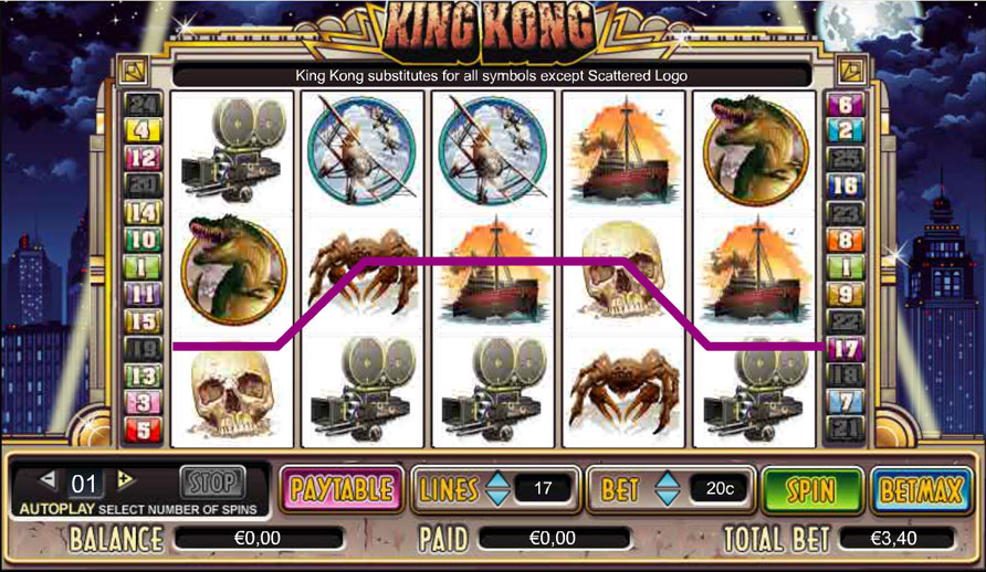 Spiele King Kong - Video Slots Online