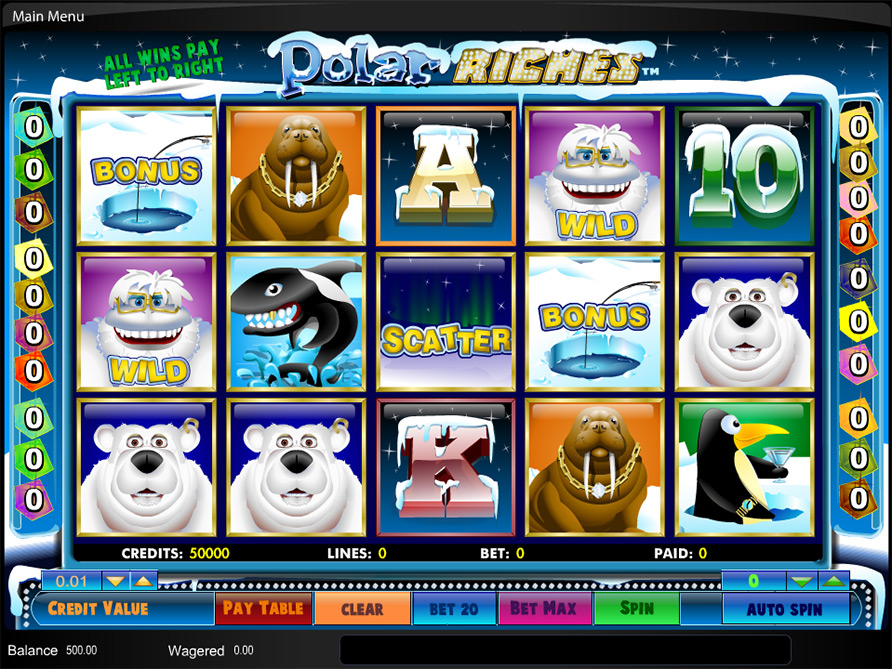 Polar Riches Slot Machine - Play for Free Online Today