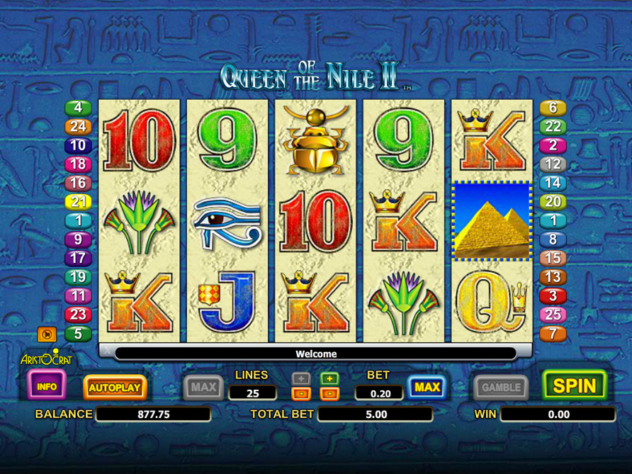 queen of nile game